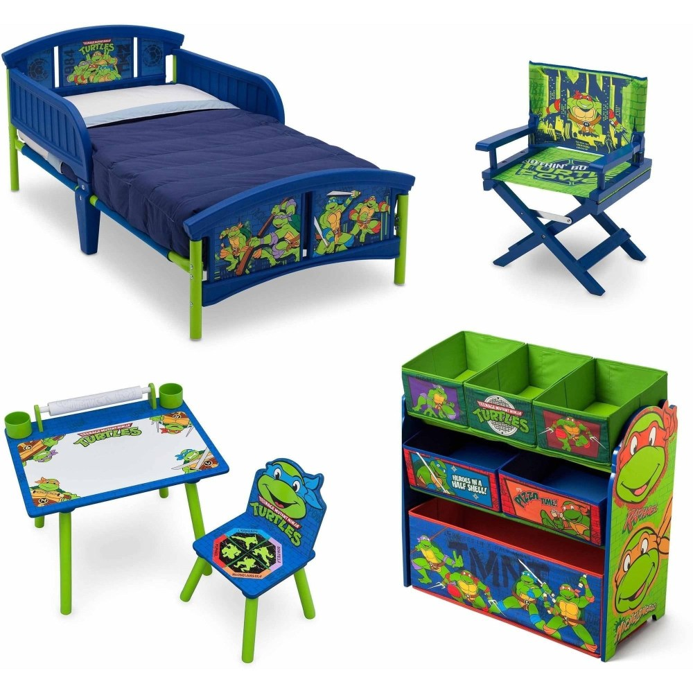 Ninja Turtles Toddler Bed Set