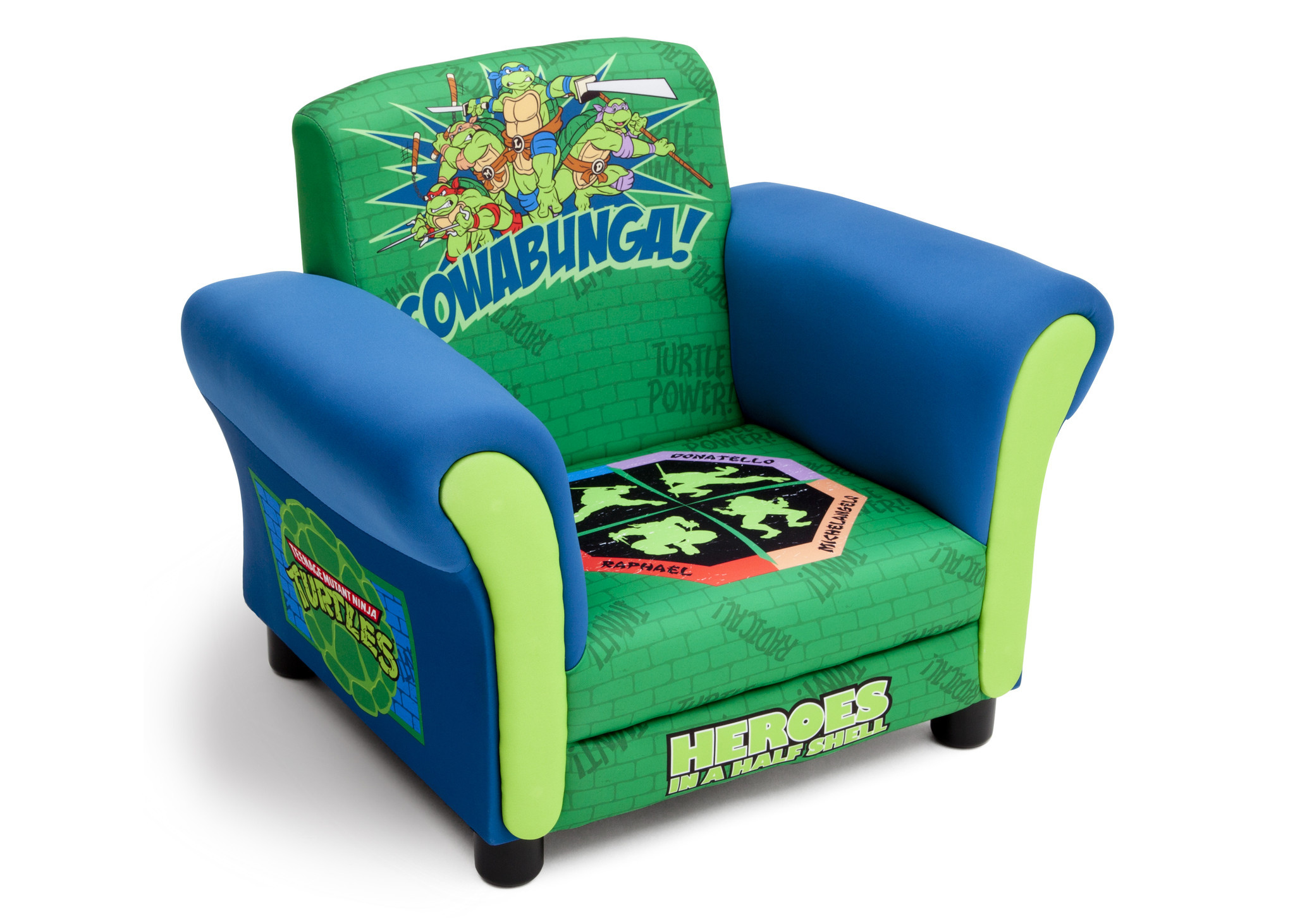Ninja Turtles Toddler Bed Tent