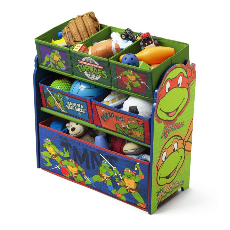 Ninja Turtles Toddler Bedroom Set
