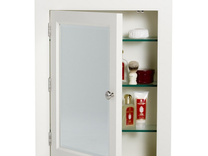 No Mirror Recessed Medicine Cabinets