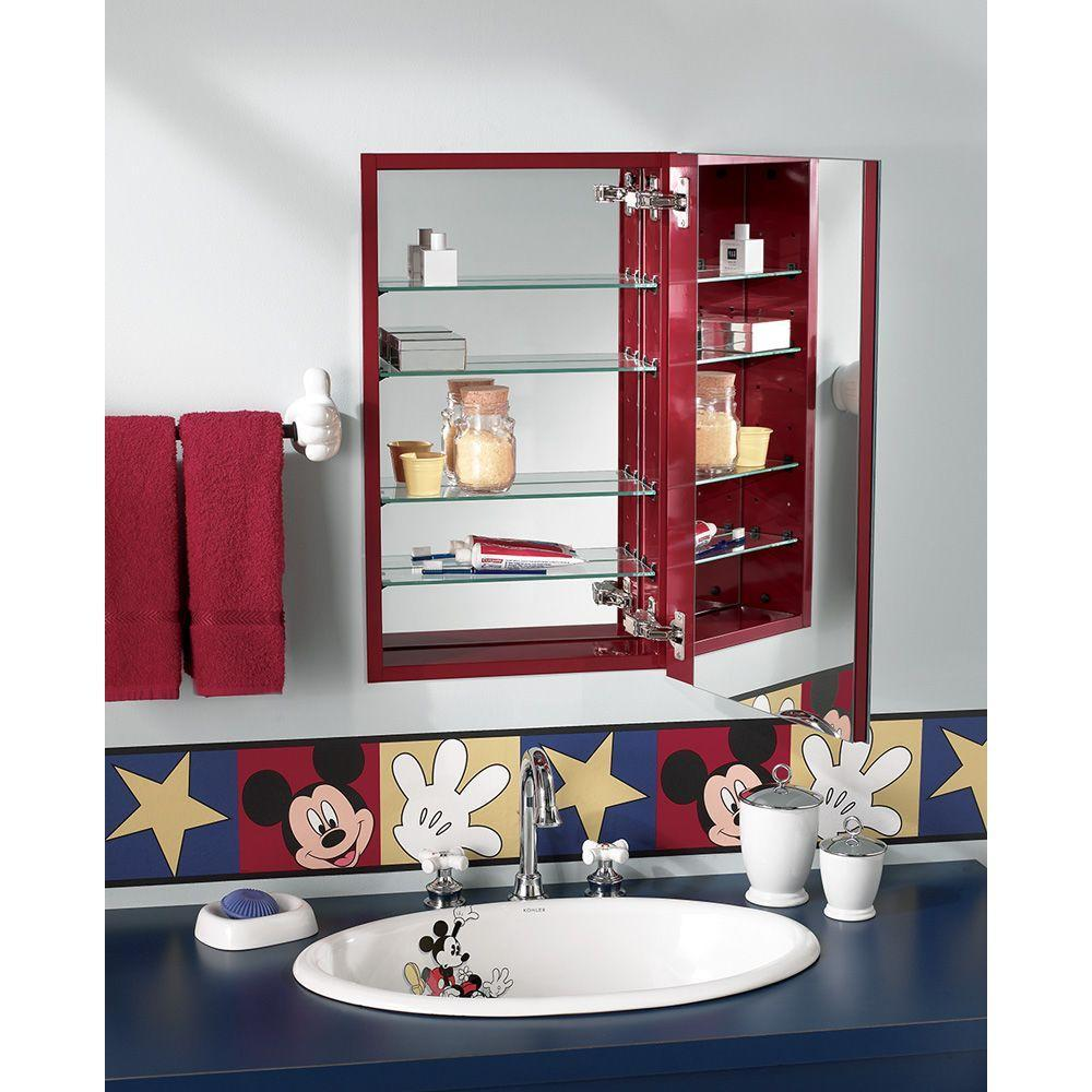 Nutone Recessed Mirrored Medicine Cabinet