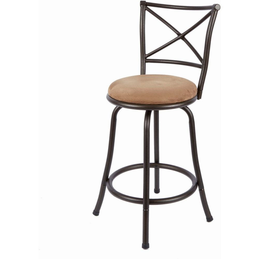 Oak Bar Stools With Back