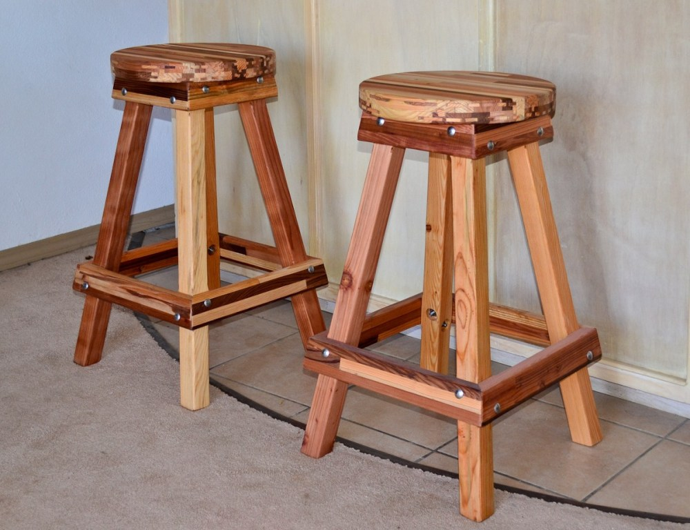 Oak Bar Stools Without Backs