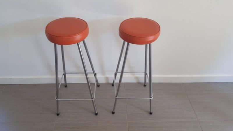 Orange Bar Stools Australia