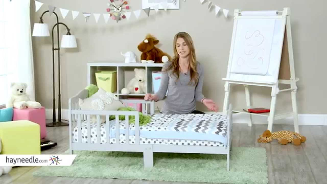 Orbelle Solid Wood Toddler Bed