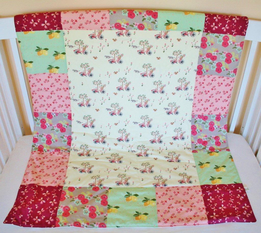 Organic Toddler Quilt