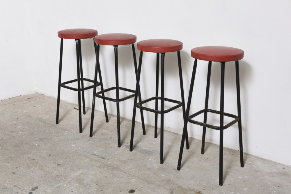 Outdoor Bar Stool Set Of 4