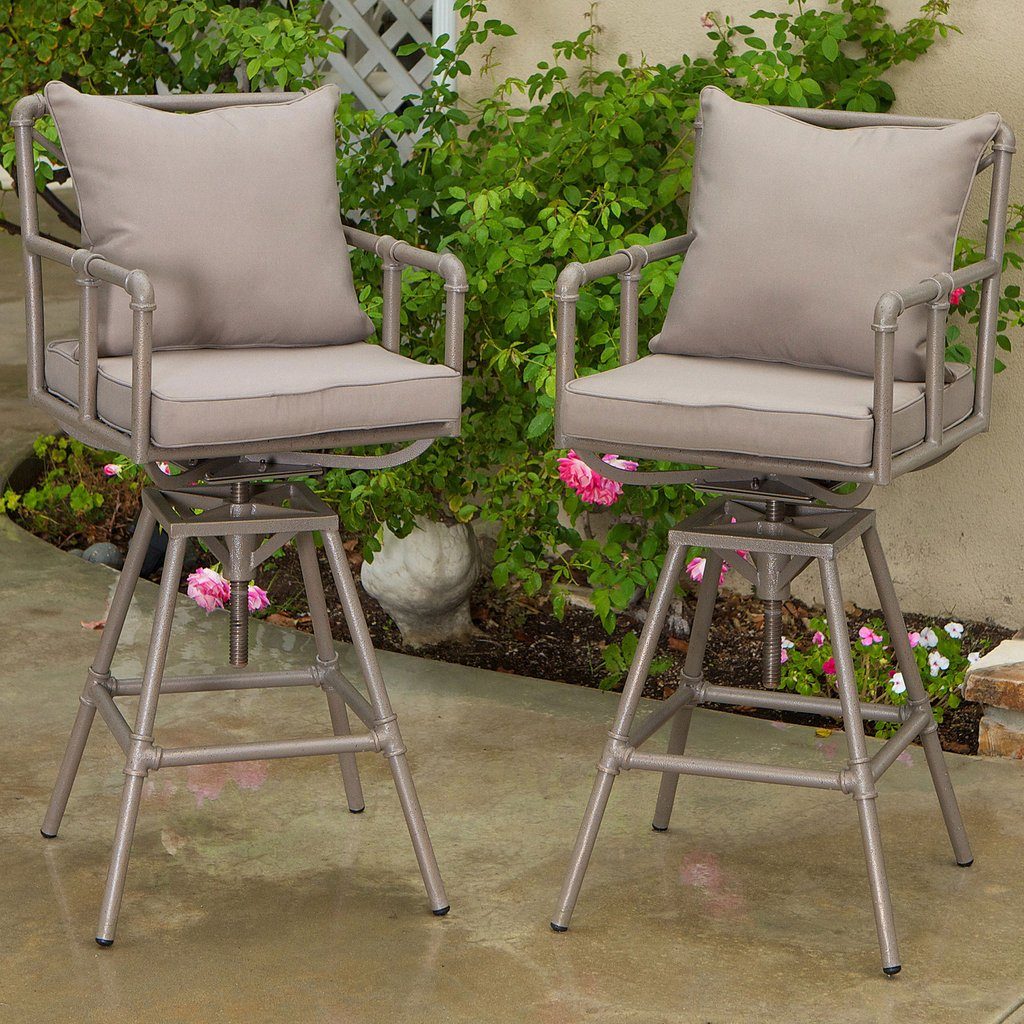 Outdoor Bar Stools Set Of 2