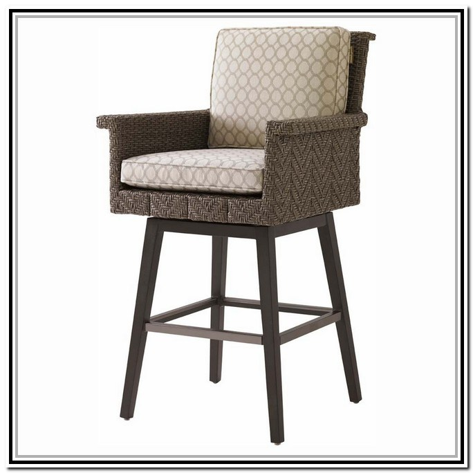 Outdoor Bar Stools Wicker Discount