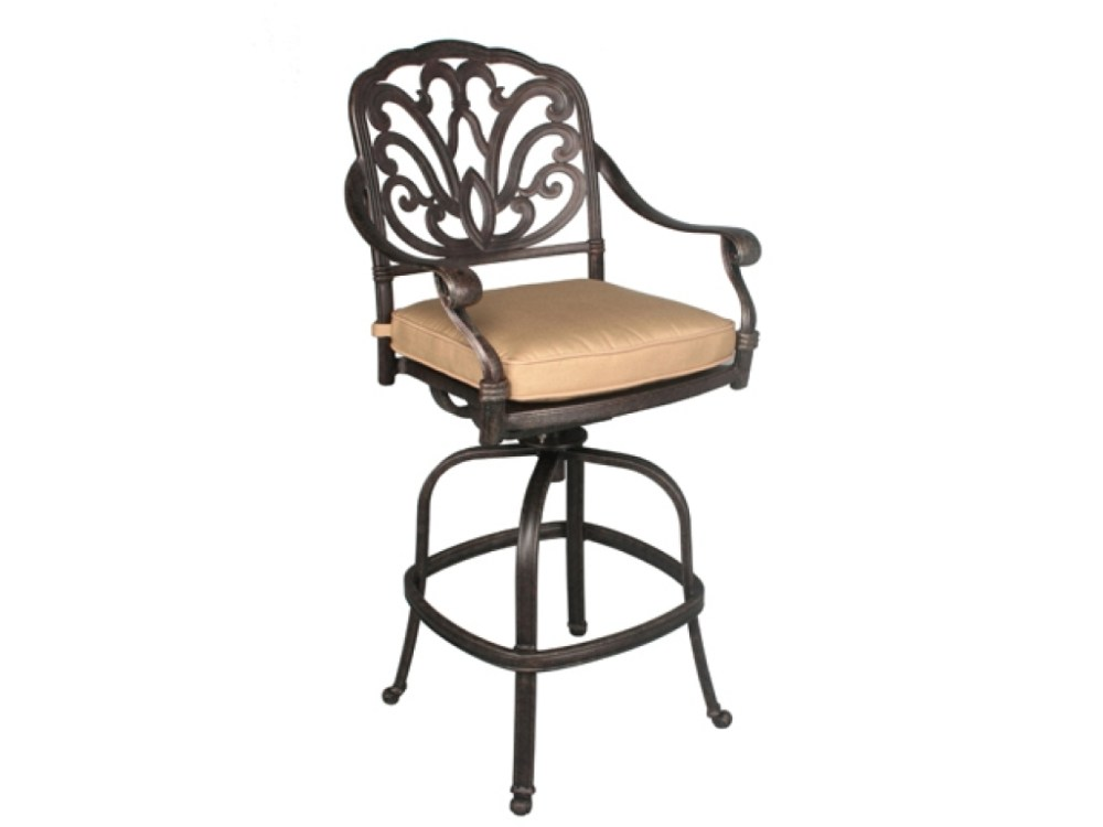 Outdoor Patio Bar Stools Swivel