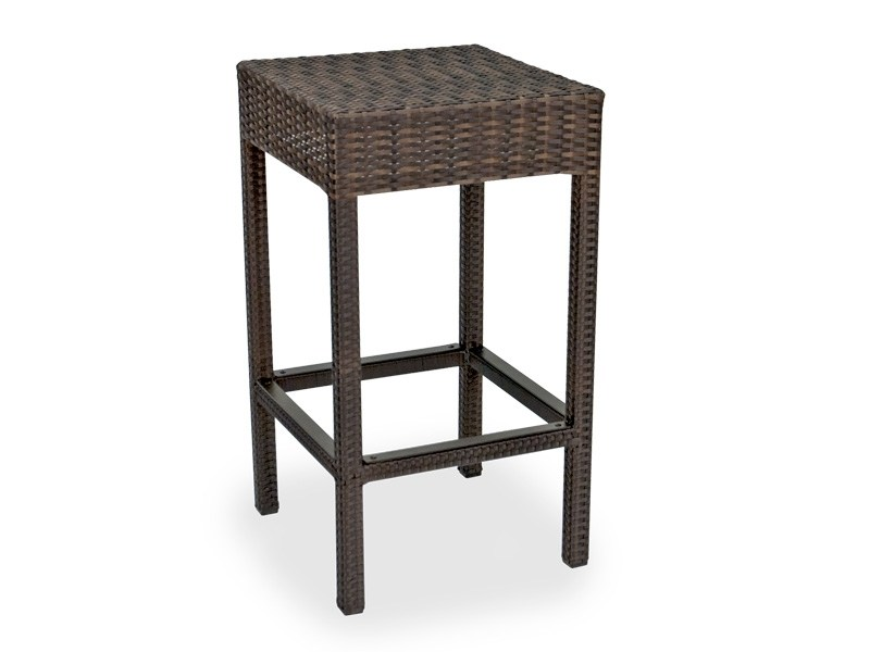 Outdoor Resin Wicker Bar Stools