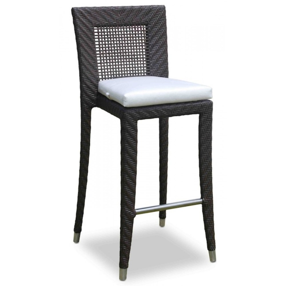 Outdoor Wicker Bar Stools Stackable