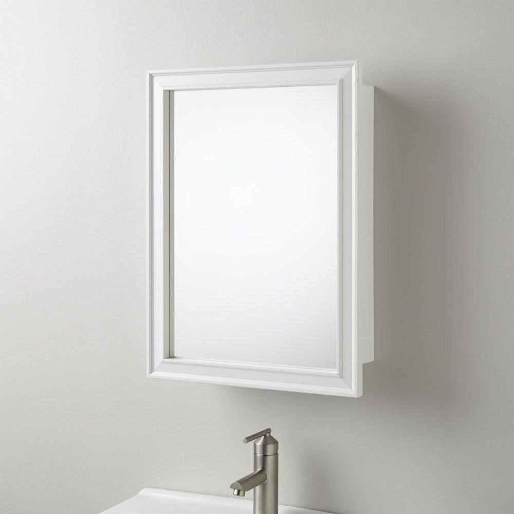 Oval Framed Medicine Cabinets