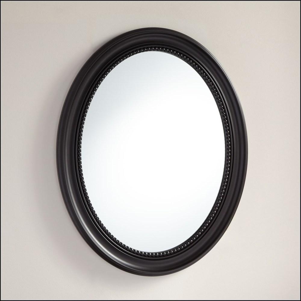 Oval Mirror Medicine Cabinet Recessed