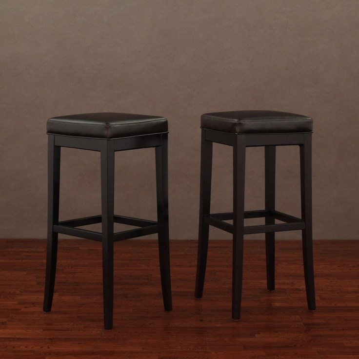 Overstock Bar Stools Brown