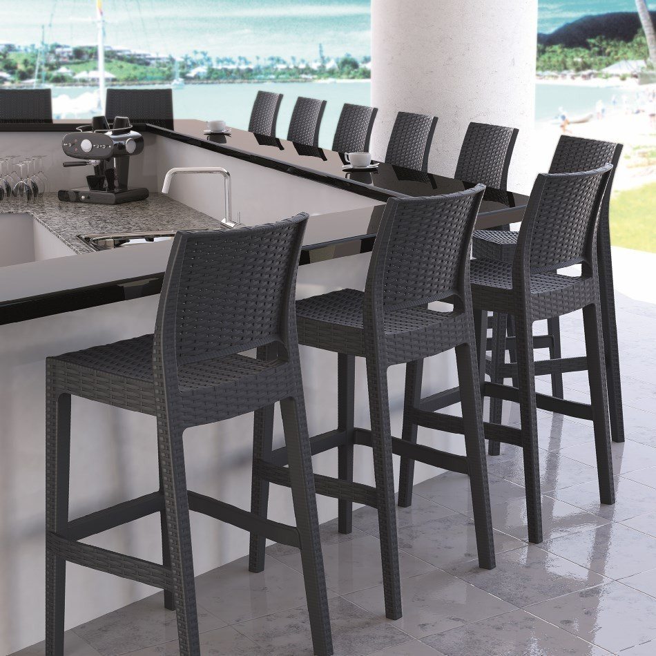 Patio Bar Stools And Table