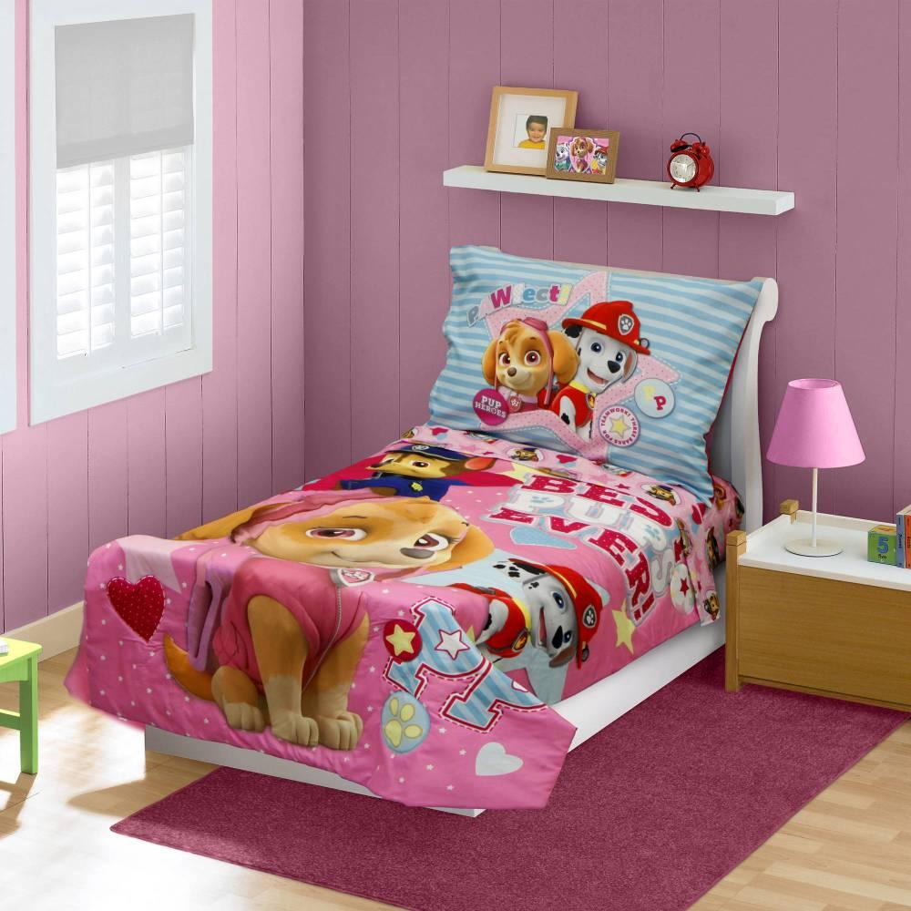 Paw Patrol Toddler Bedding Girl