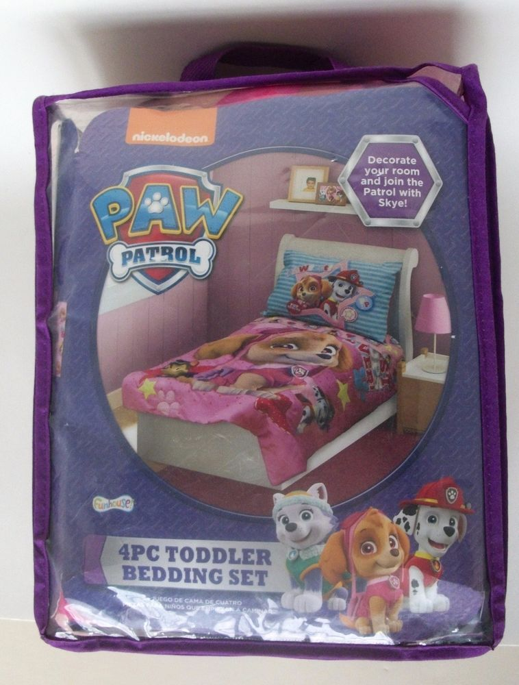 Paw Patrol Toddler Bedding Pink