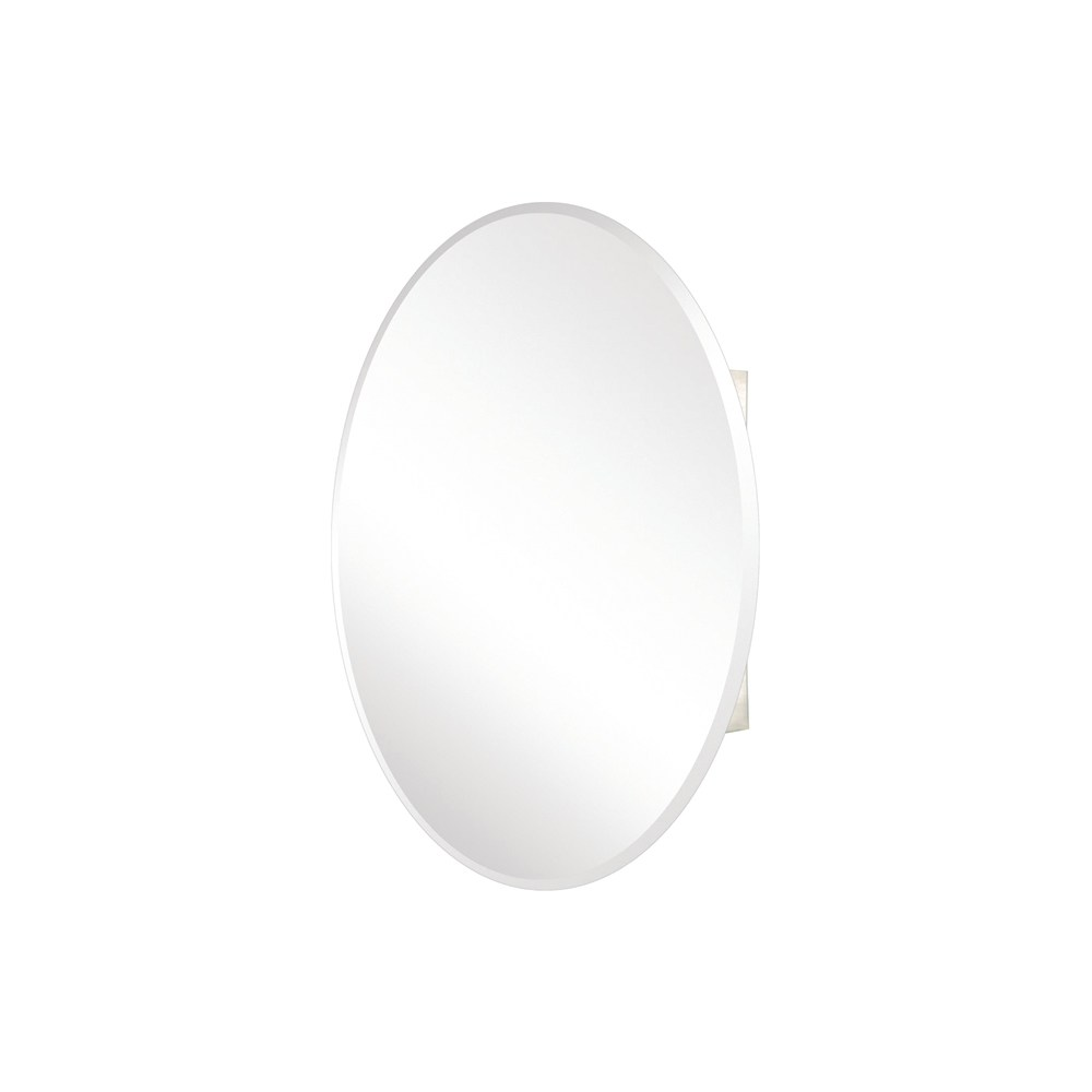 Pegasus Oval Beveled Mirrored Medicine Cabinet