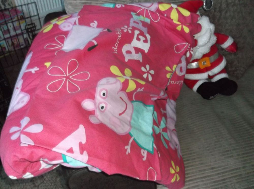 Peppa Pig Toddler Bed Duvet Set