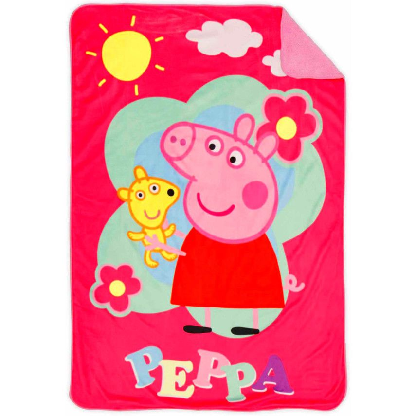 Peppa Pig Toddler Bed Sheet Set