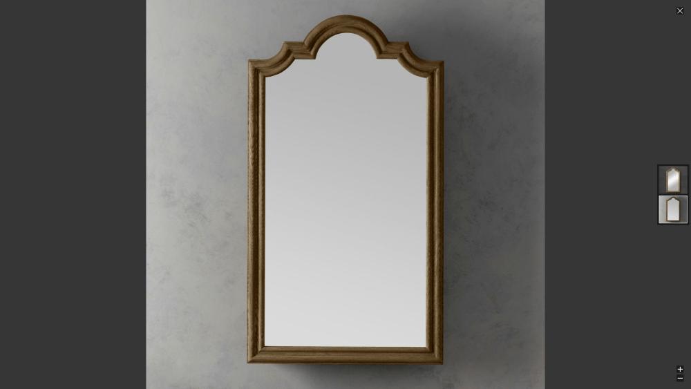 Picture Frame Door Medicine Cabinet