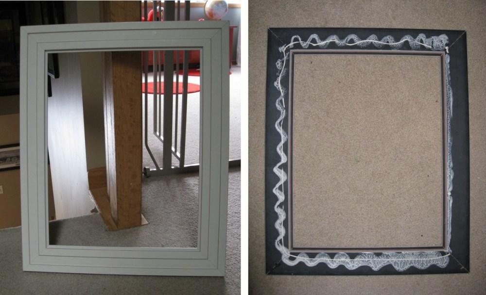 Picture Frame Mirror Medicine Cabinet