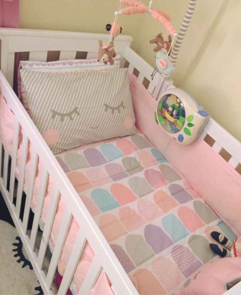 Pink Toddler Bed Comforter
