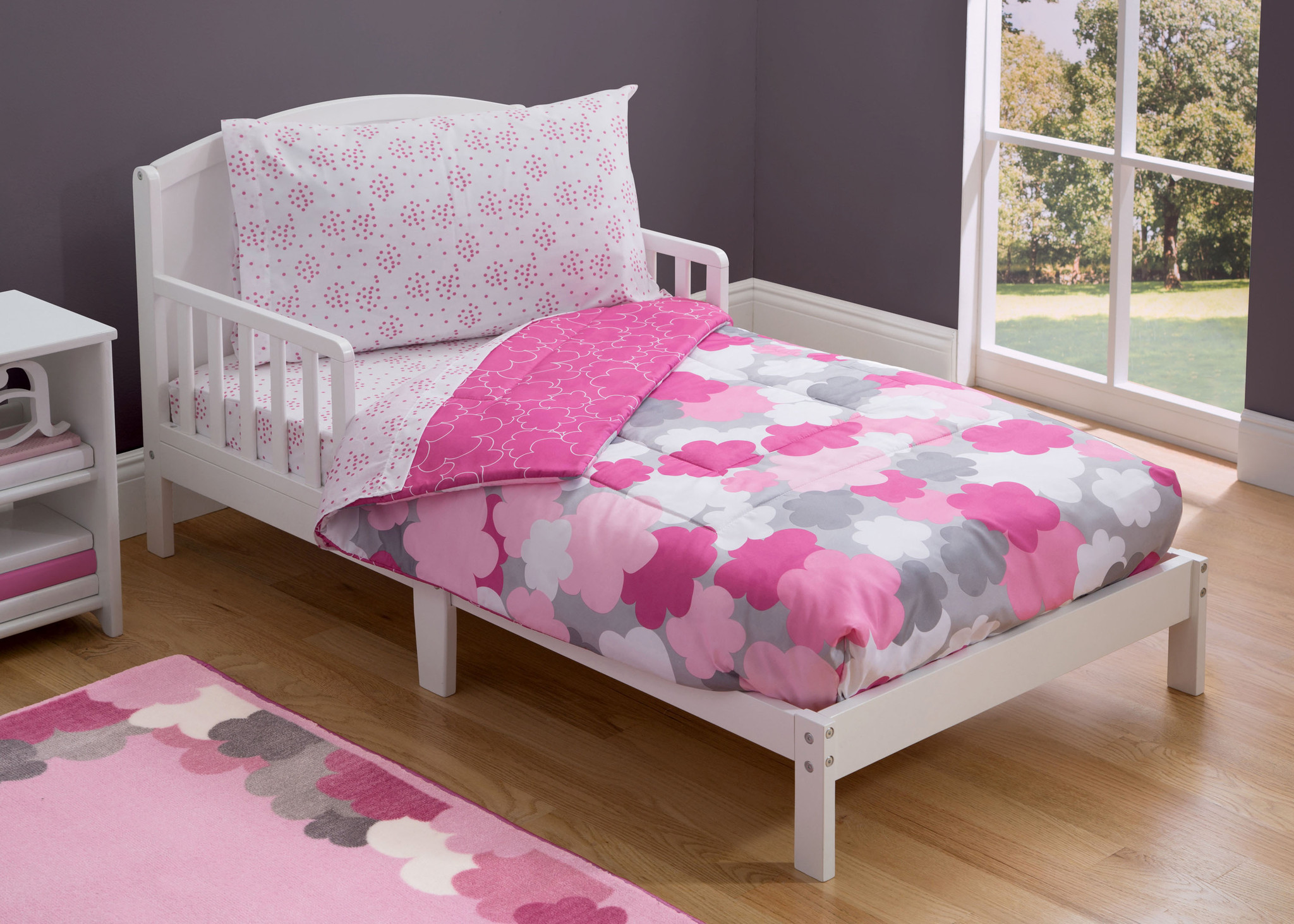 Pink Toddler Bedding Set