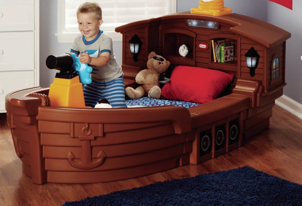 Pirate Ship Toddler Bed Little Tikes
