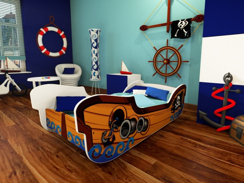 Pirate Toddler Bed Ebay