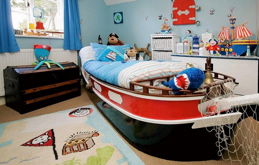 Pirate Toddler Bedroom