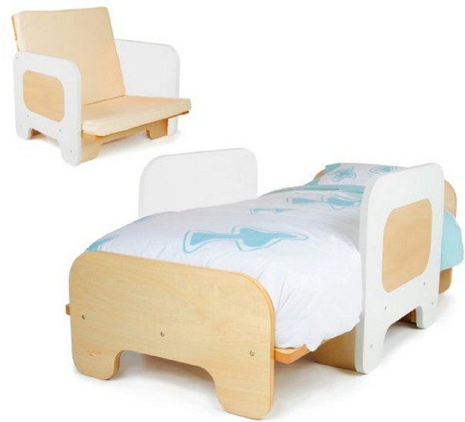 P'kolino Toddler Bed White