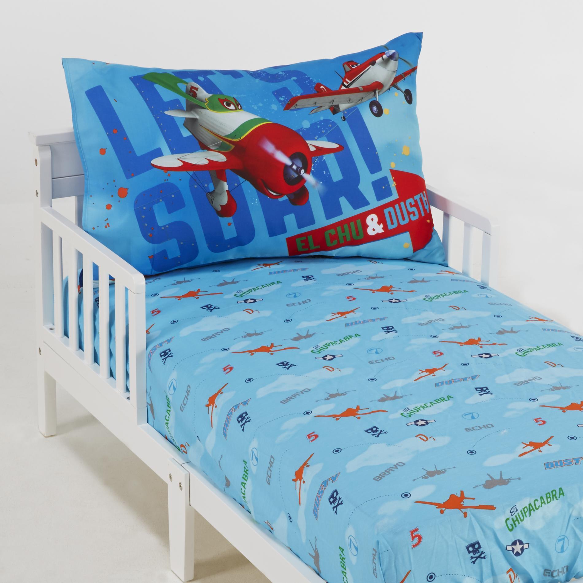 Planes Toddler Bedding Set