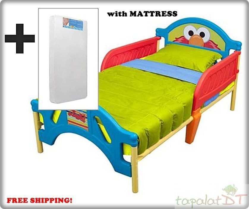 Plastic Toddler Bed With Mattress