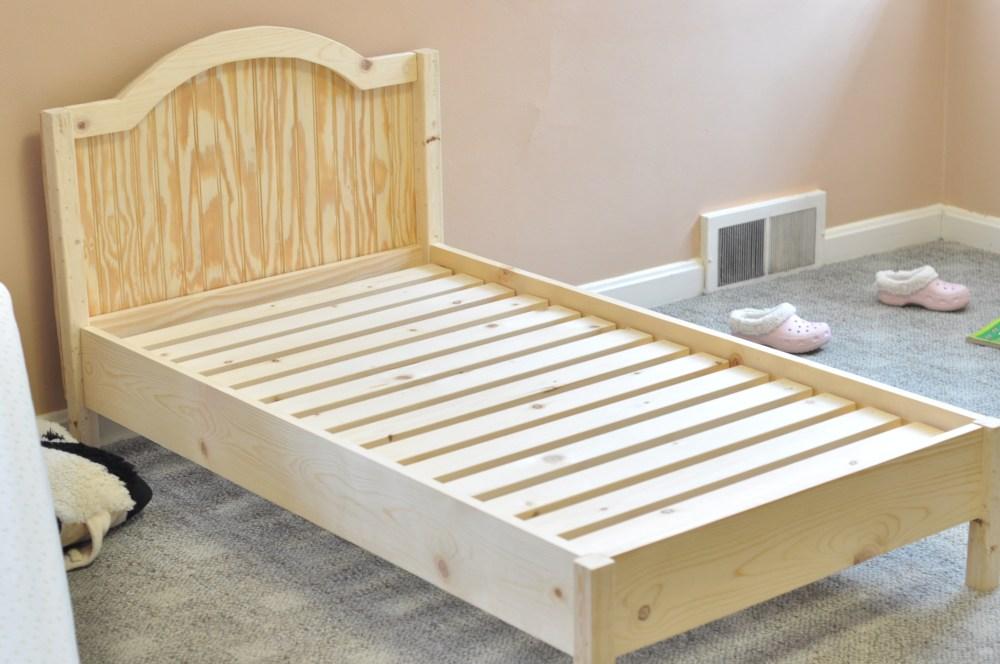 Platform Toddler Bed Plans
