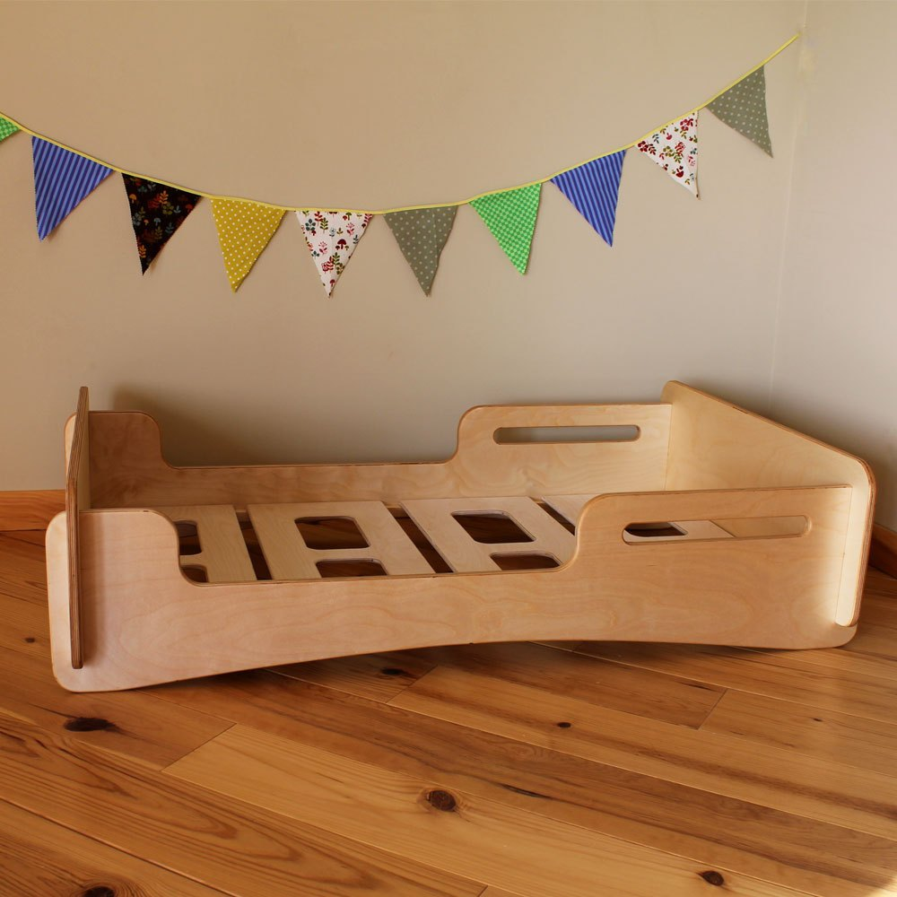 Platform Toddler Bed