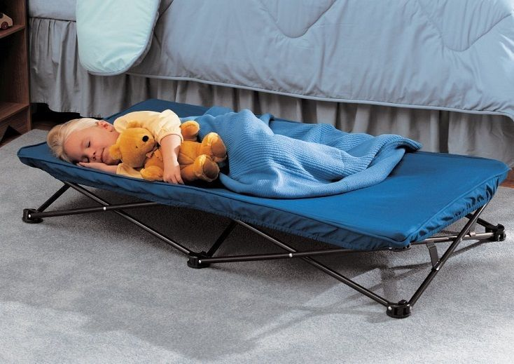 Portable Folding Toddler Bed