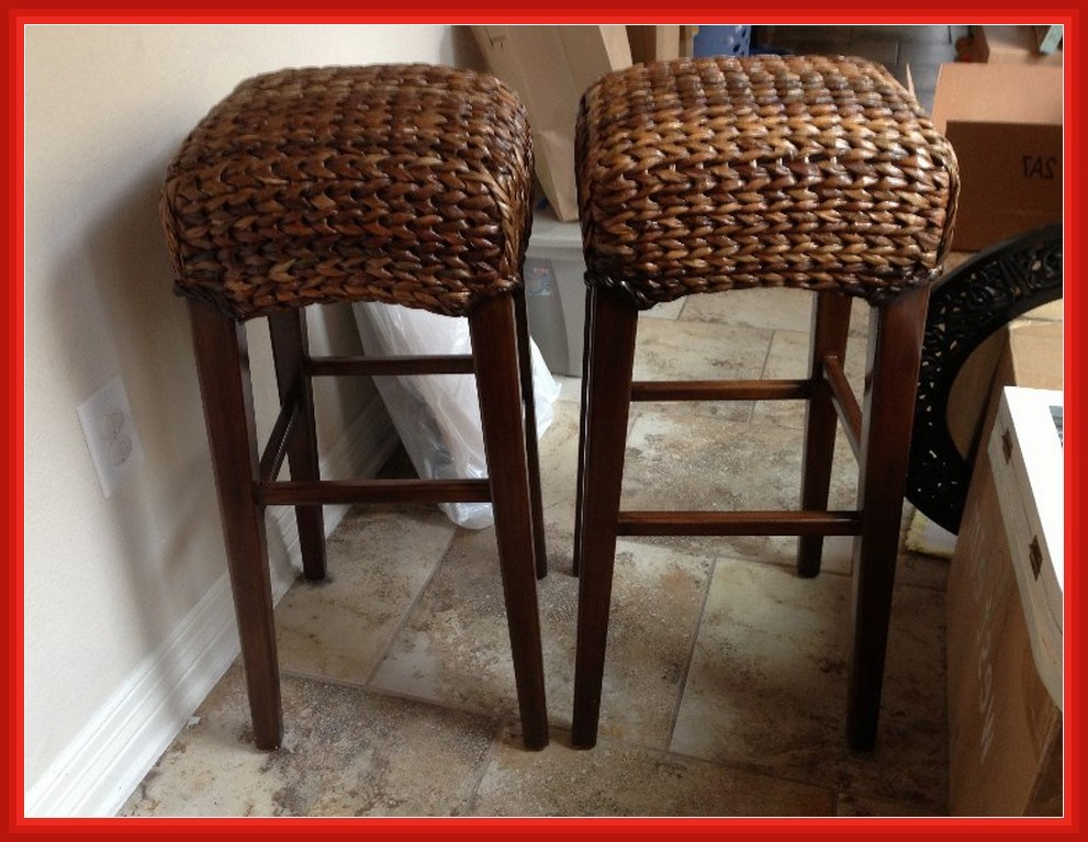 Pottery Barn Bar Stools Seagrass
