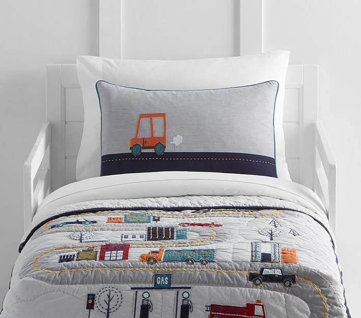 Pottery Barn Brooklyn Toddler Bedding