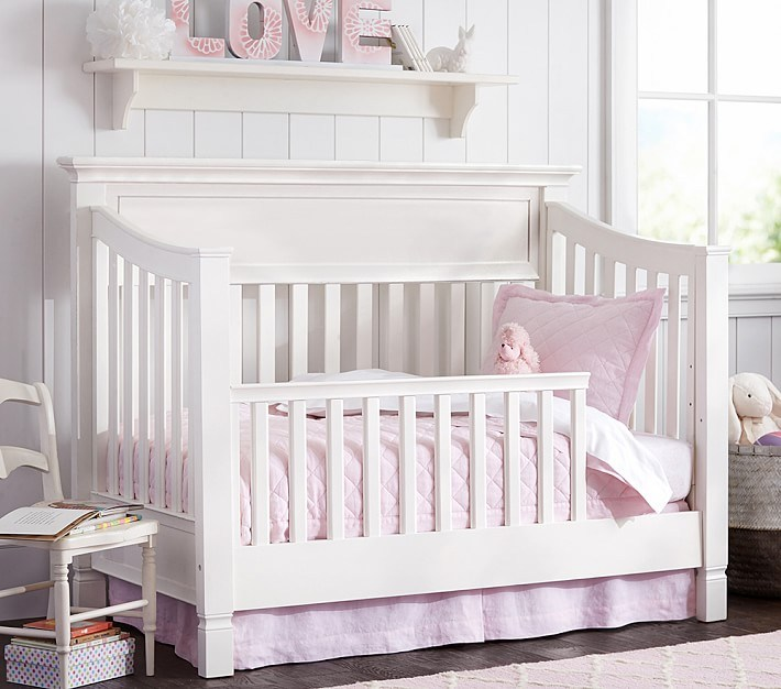 Pottery Barn Toddler Bed Conversion