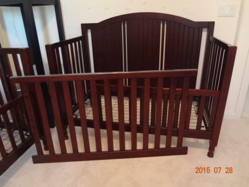 Pottery Barn Toddler Bed Rail