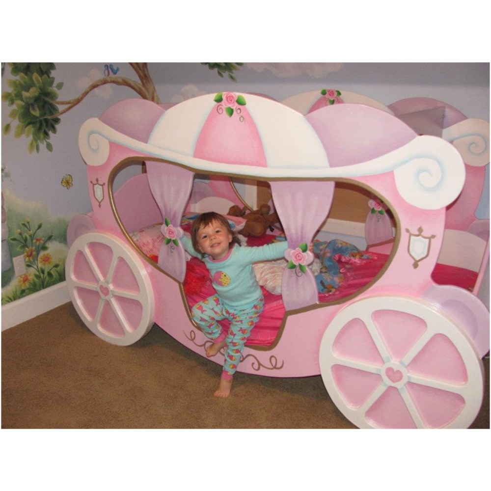 Princess Carriage Toddler Beds