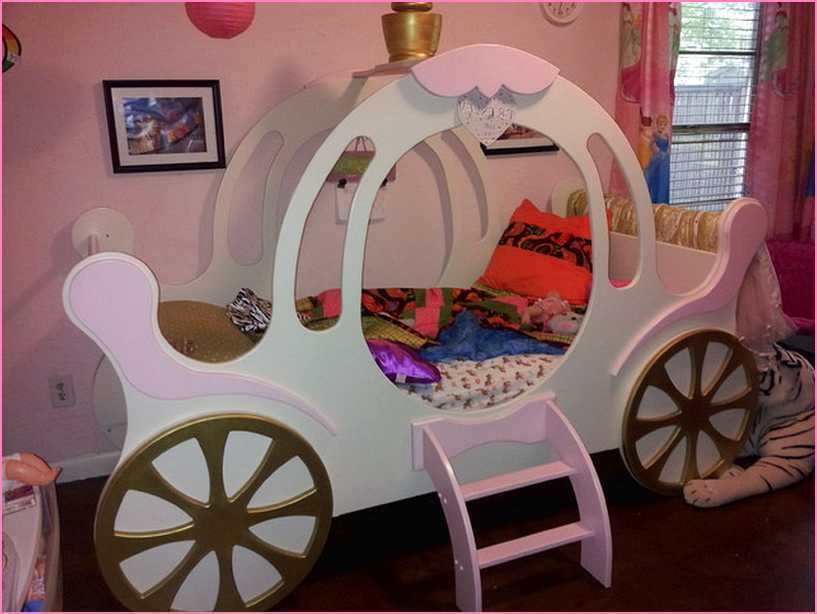 Princess Toddler Bed With Canopy Instructions