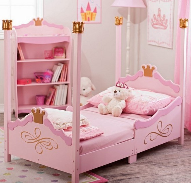 Princess Toddler Bed With Canopy