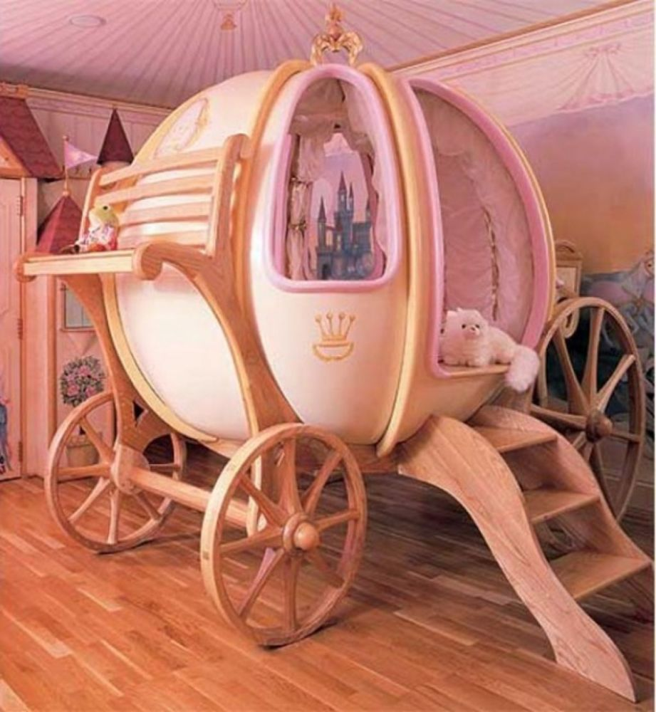 Pumpkin Carriage Toddler Bed