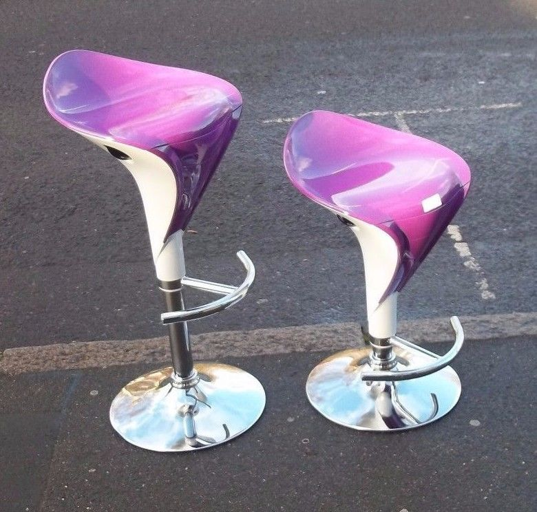 Purple Bar Stools Ebay