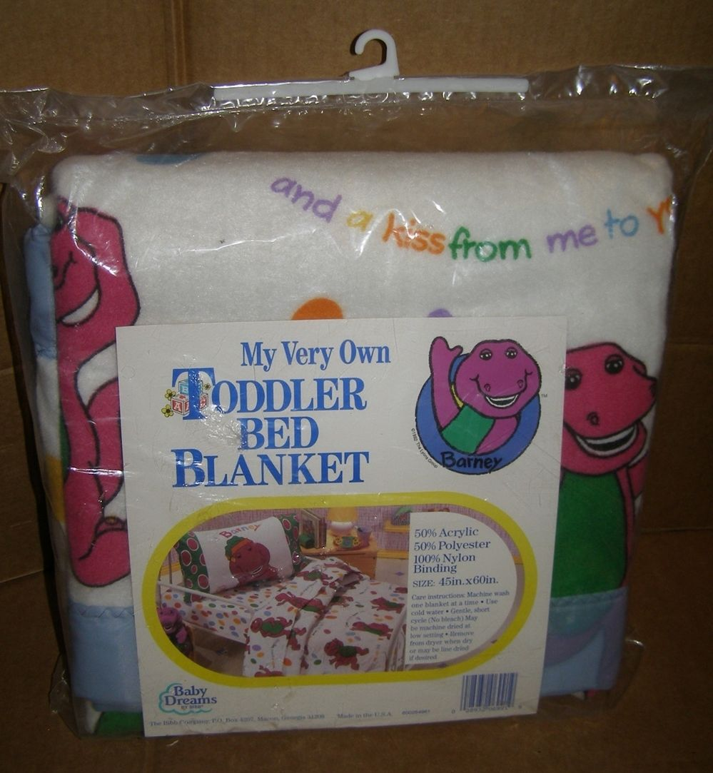 Purple Toddler Bed Blanket