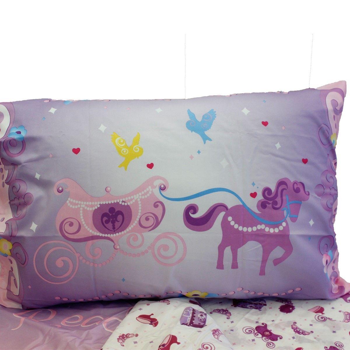 Purple Toddler Bed Comforter