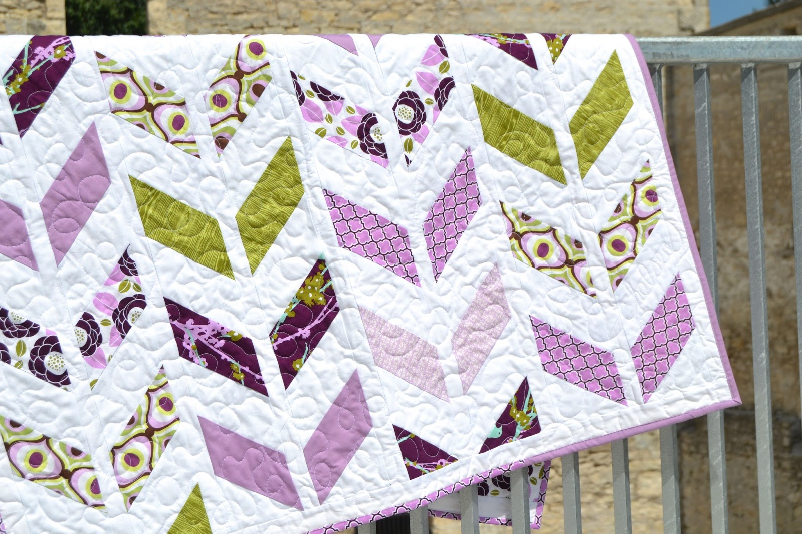 Purple Toddler Quilt